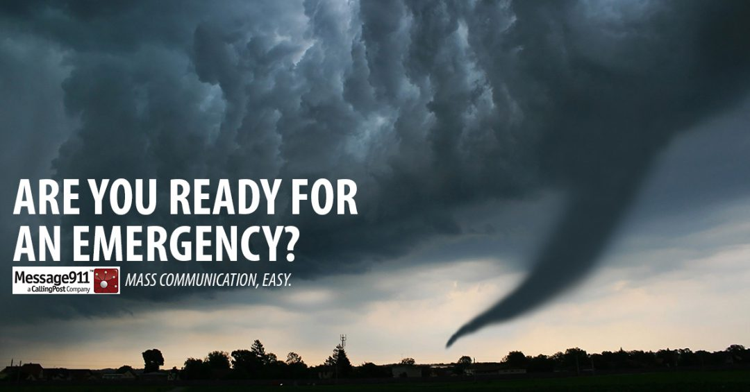 mass communication easy in the event of a weather emergency
