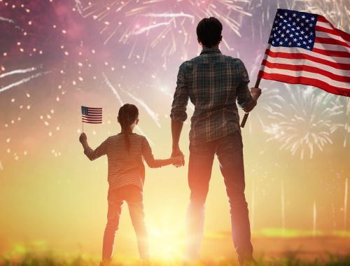 Fourth of July Reflection - America's One to Many Messenger - Automated phone call system, text system
