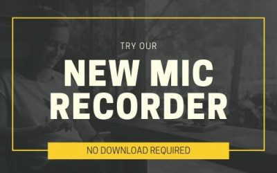 Updated Mic Recorder