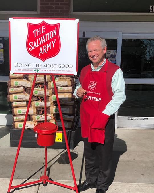 CallingPost Case Study – Bell Ringing for the Salvation Army in Augusta, GA